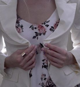 all rings together white suit