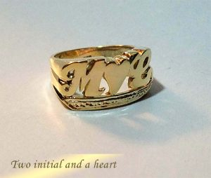 Two Initial and a Heart