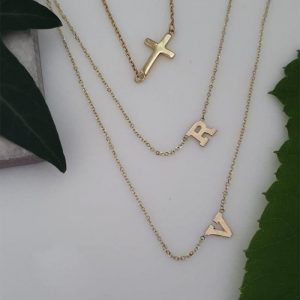 Cross initial choker