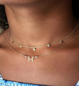 Star choker and initial